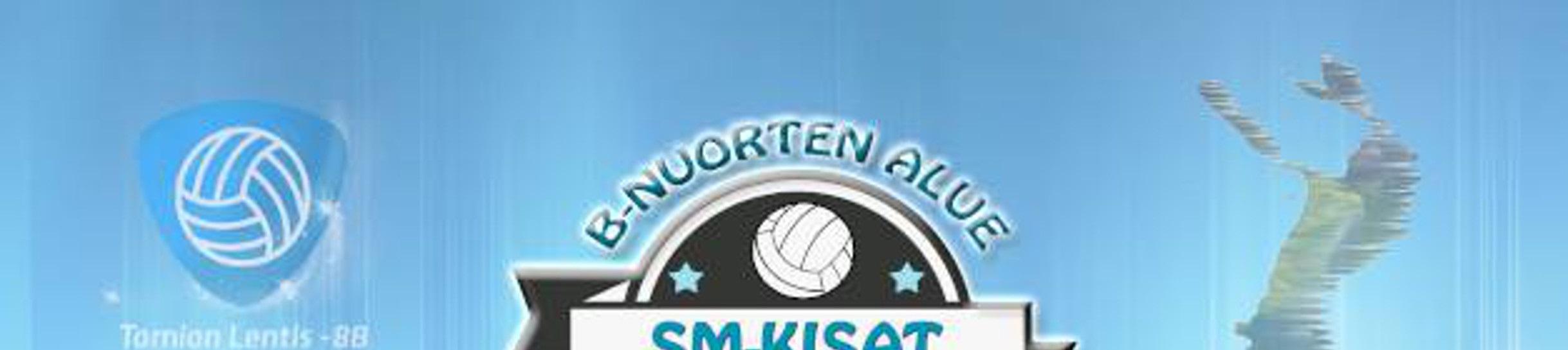 B-nuorten alue SM -kisat 2014