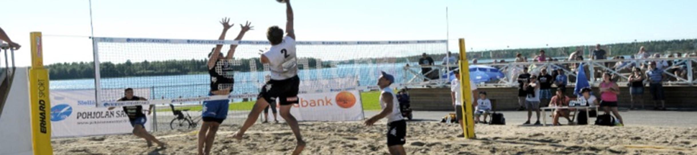 Beach Volleyn SM-osakilpailu 2014